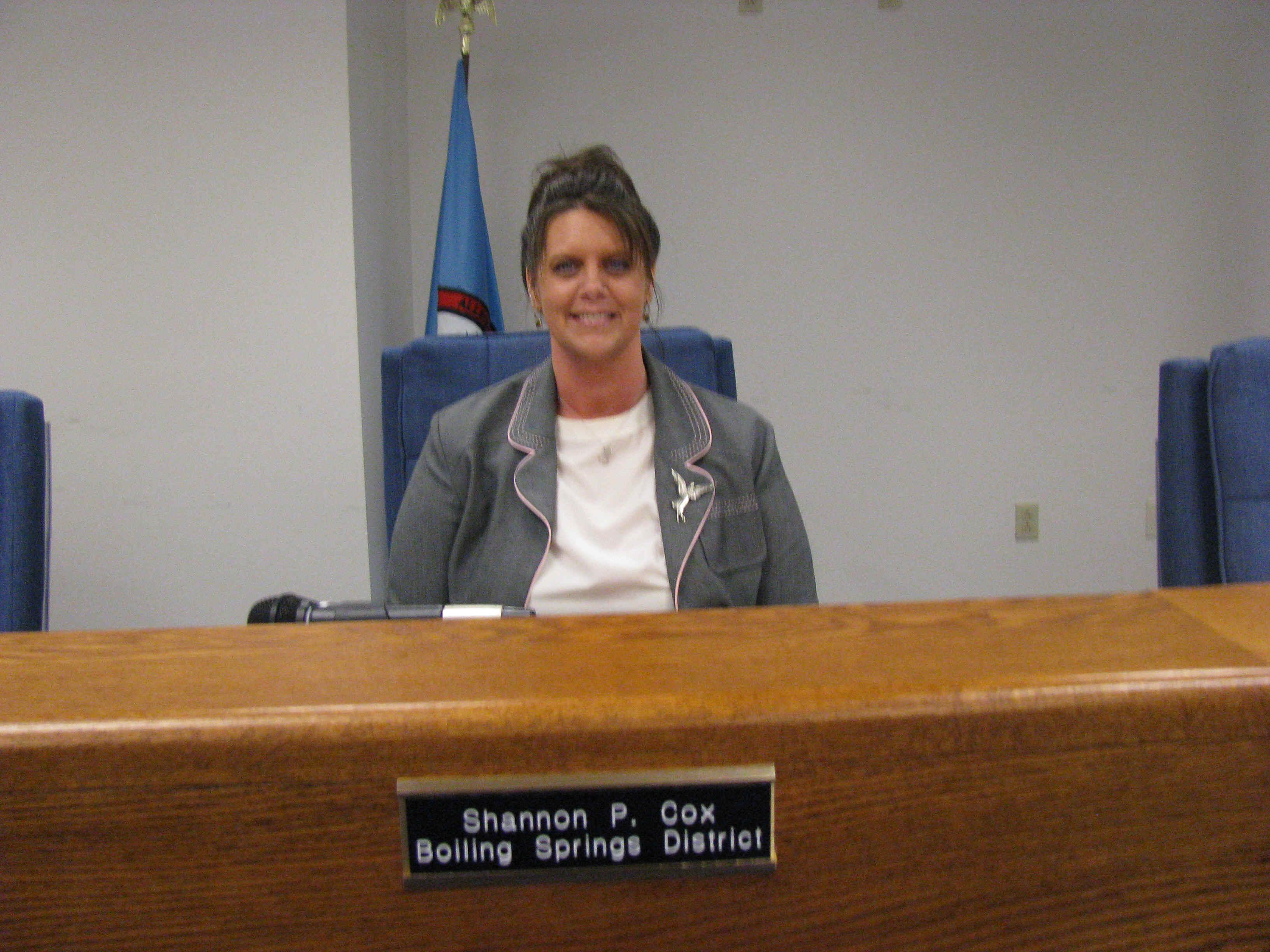 Alleghany Co VA Board of Supervisors Member - Shannon P. Cox