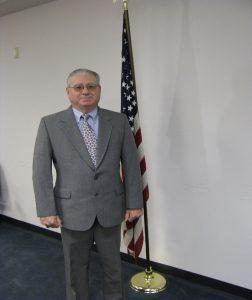 Alleghany Co Va. Board of Supervisors Member - Richard Shull, Clifton Forge West District